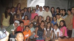 Eno and Ayong Pulgar's Family, Dec 25, 2008